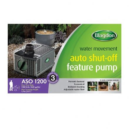 Blagdon 1200 Auto Shut-off Feature Pump